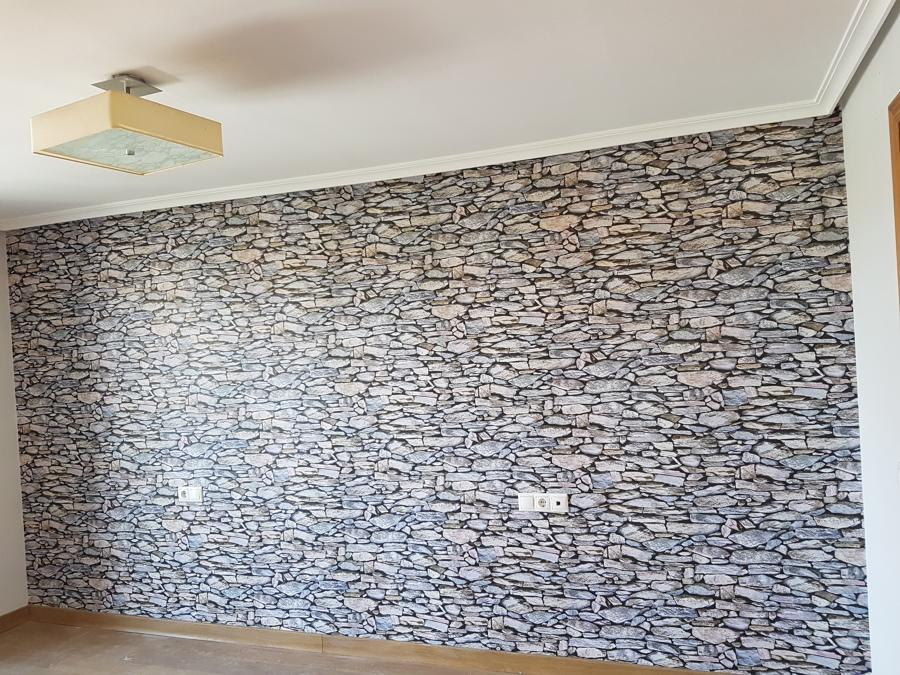 Foto papel pintado de decoracion y pintura santiago for Papel pintado tenerife