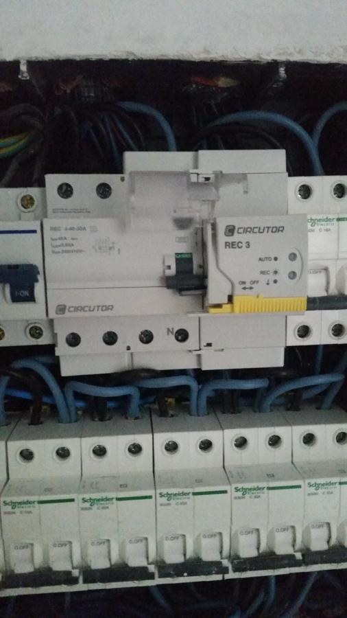 Diferencial Rearmable 4 polos 40/30mA  CIRCUTOR.