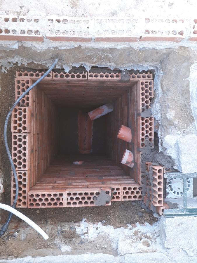 Proceso de construcción de arqueta 2
