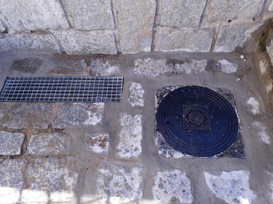 Instalación de tapa y remates de los pavimentos afectados