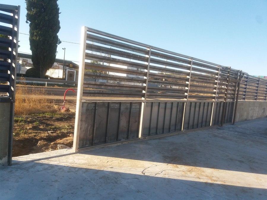 Puerta de hierro automatica