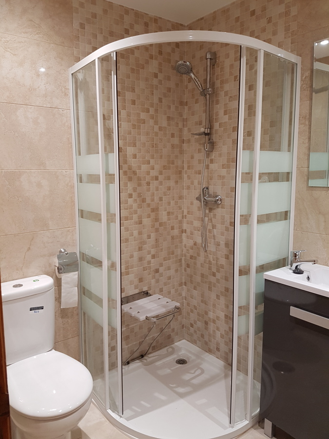 Reforma baño para persona mayor