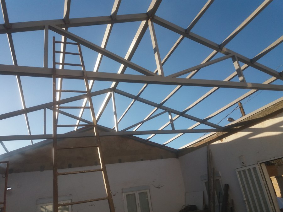 Estructura garaje
