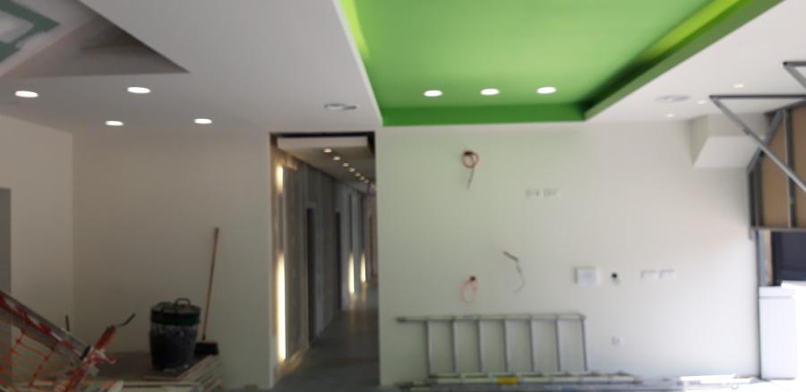 Oficinas Inerzis s.l detalle iluminación