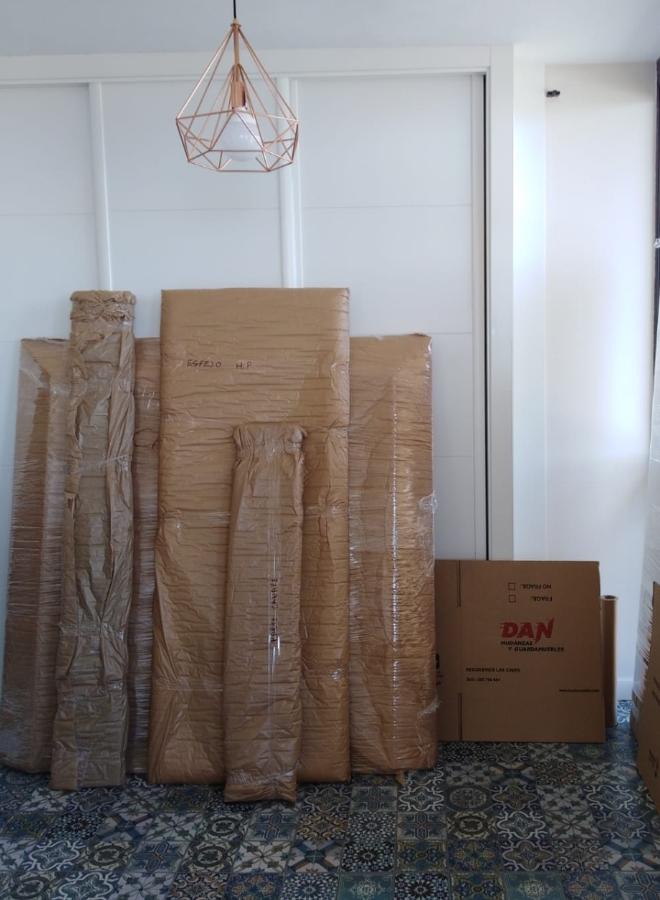 Embalaje de mobiliario para el guardamuebles