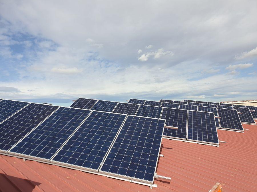 Instalación solar 100 kW