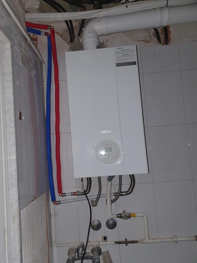Instalacion de caldera