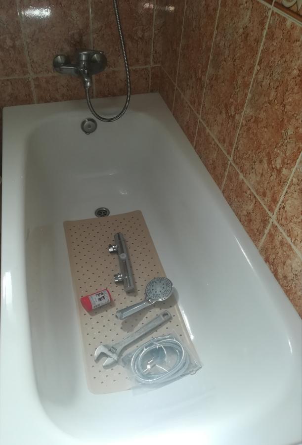 Sustitución de griferias bañera