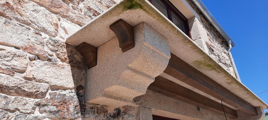 Apertura de huecos en fachada piedra