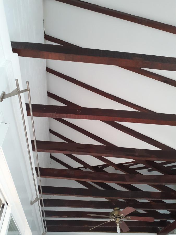 Tratamiento de vigas de madera