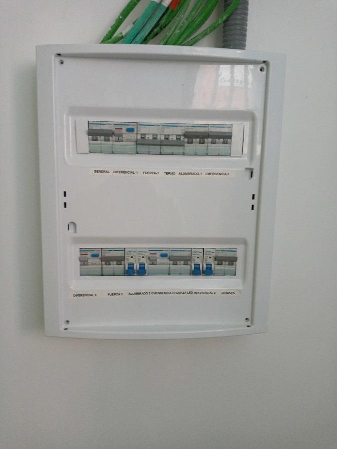 Modificación de Cuadro Eléctrico
