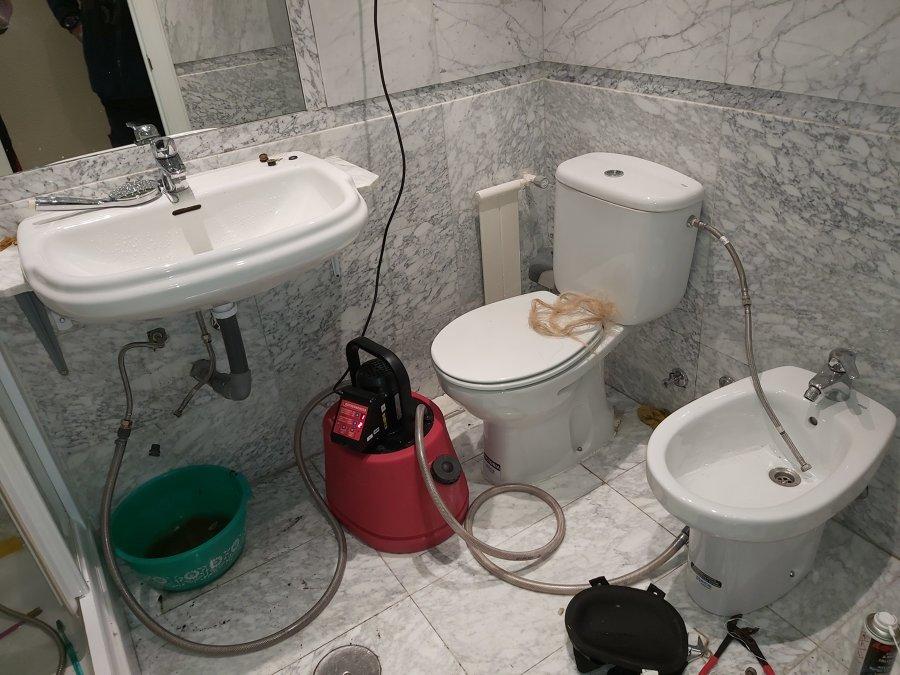 Descalcificación/Desatranco en tubería de hierro