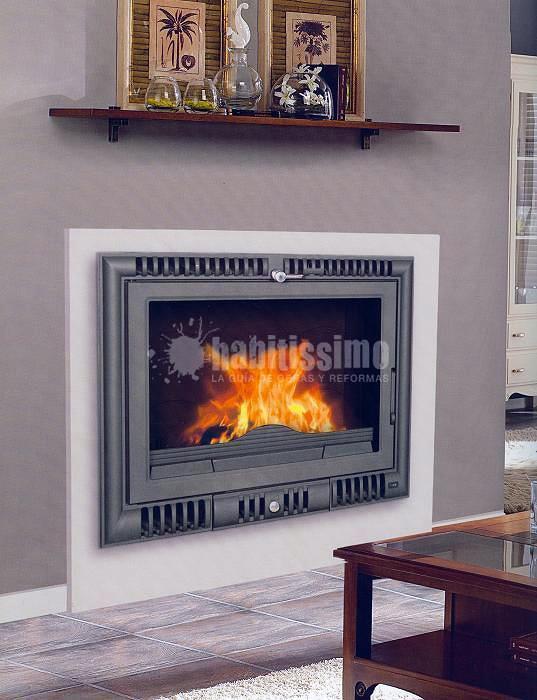 Foto muebles cocina ba o decoraci n de kocinarte 20271 for Chimeneas para calefaccion