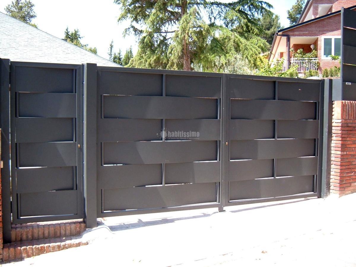Foto puertas garaje puertas correderas puertas de avila - Puertas de garaje murcia ...