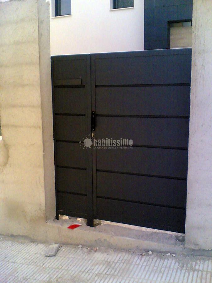 Puertas Garaje, Puertas Correderas, Puertas