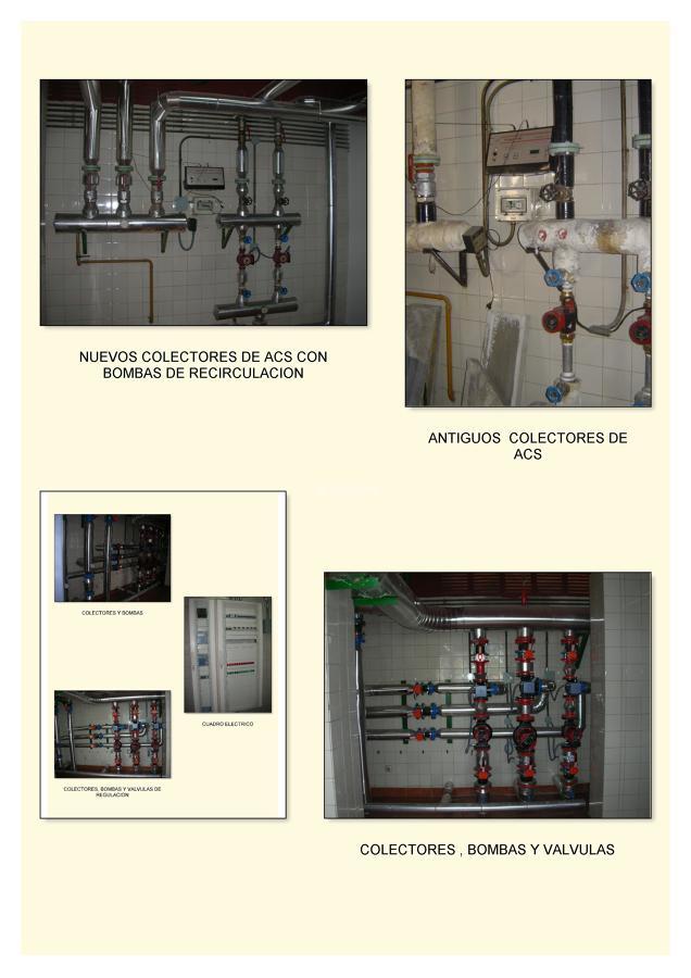 Calefacción, Mantenimiento Legionella, Paneles Solares