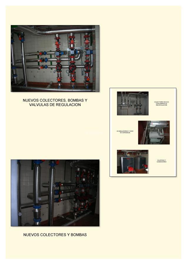 Calefacción, Paneles Solares, Mantenimiento Legionella