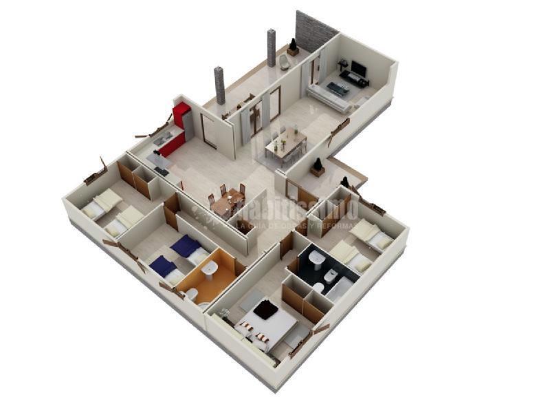 Construcción Casas, Casas Madera, Construcción Edificios