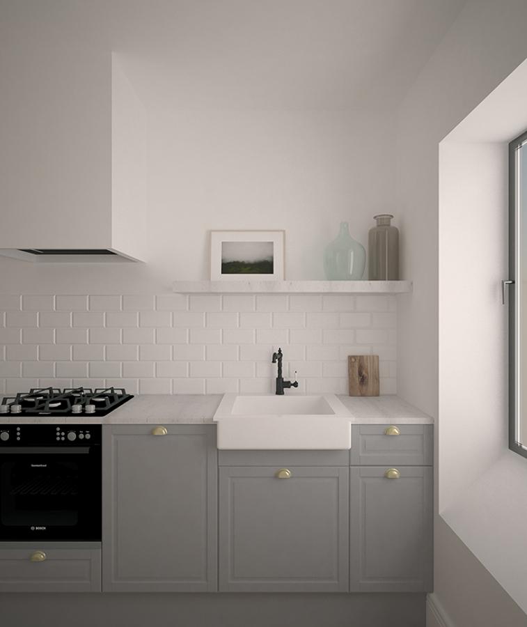 Cocina apartamento Lasarte-Oria