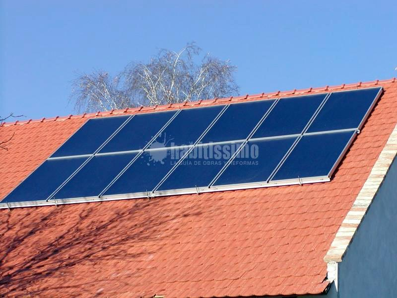 Placas Solares, Instalación Chimeneas