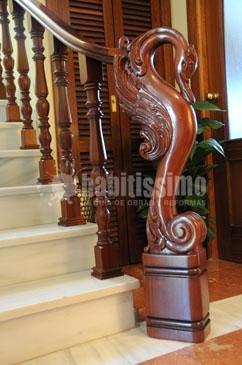 Foto construcci n casas p rgolas puertas madera de - Casas de madera santa clara ...