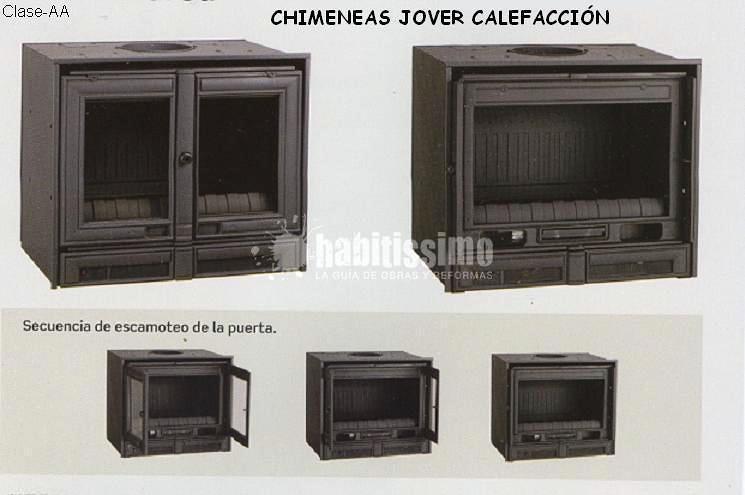 Chimeneas, Calefacción, Tiendas
