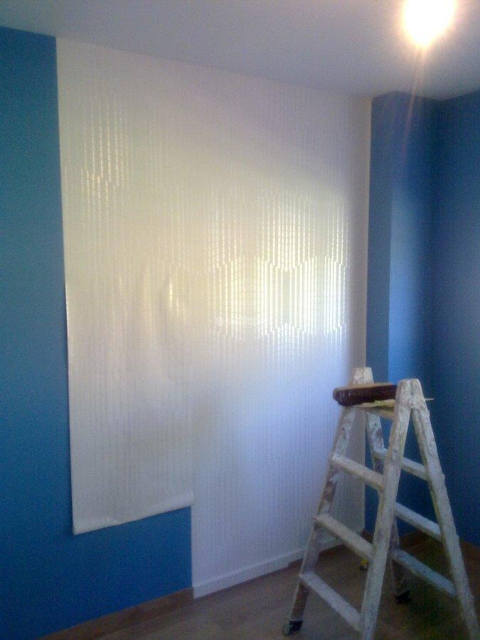 Foto pintores alisado paredes art culos decoraci n de - Pintores de paredes ...