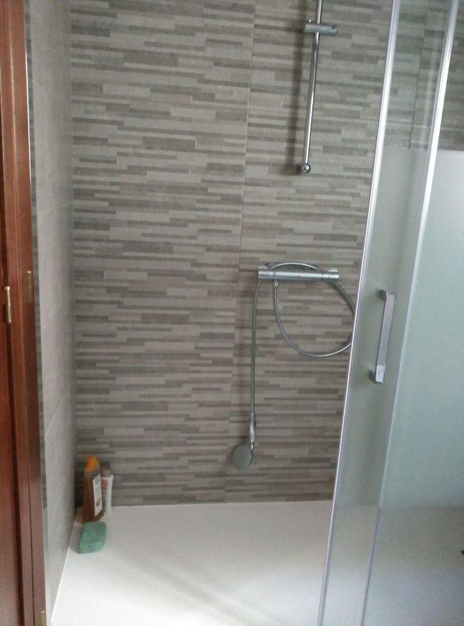 Zona de ducha adaptada minusvalidos