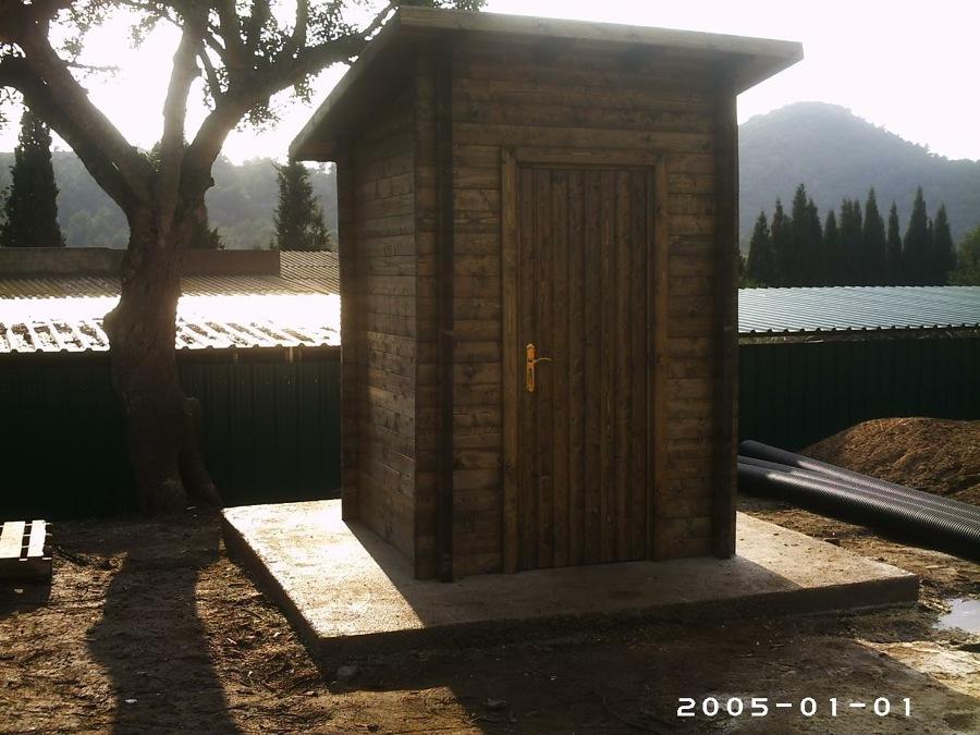 Casitas madera jardin