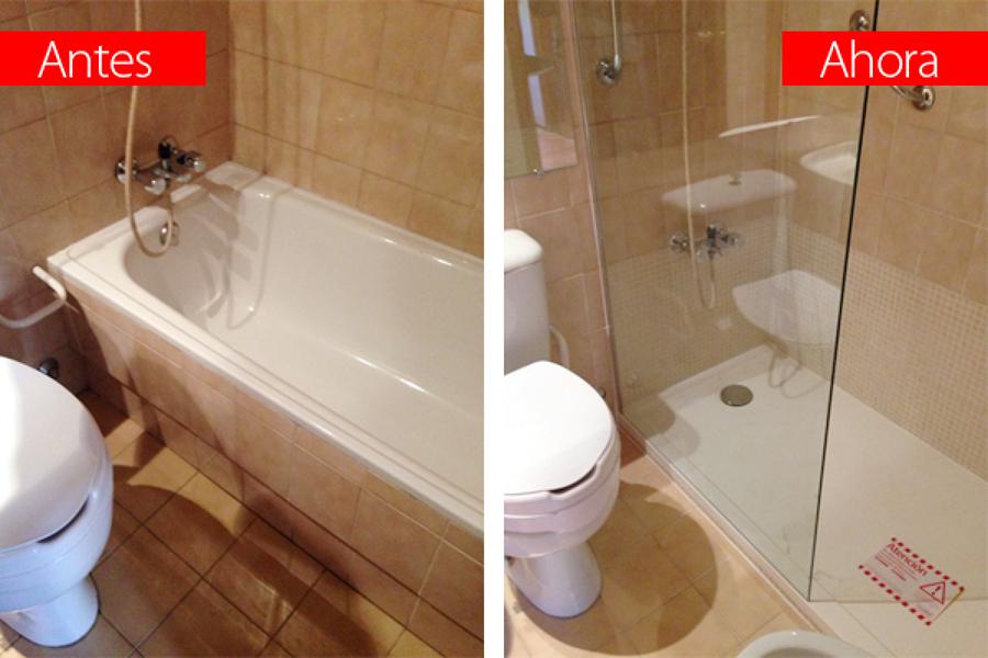Cambiar bañera por plato de ducha antideslizante SecuriBath