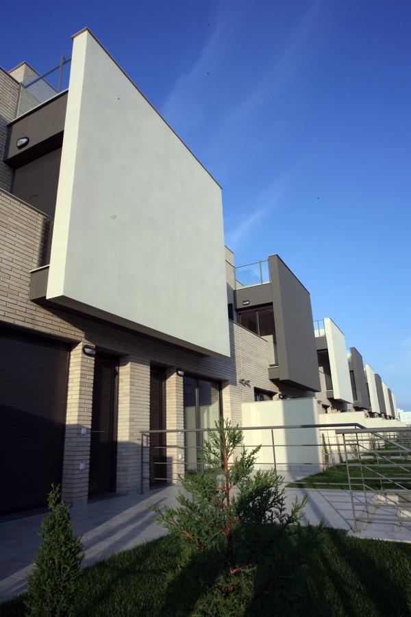 36 viviendas en Barcelona fachada Este