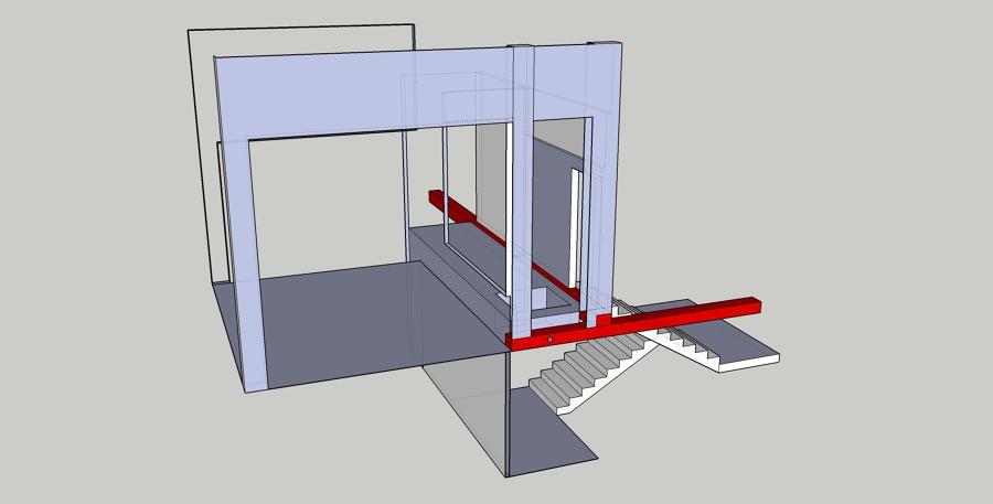 Estudi Estructura per Rampa Accessibilitat