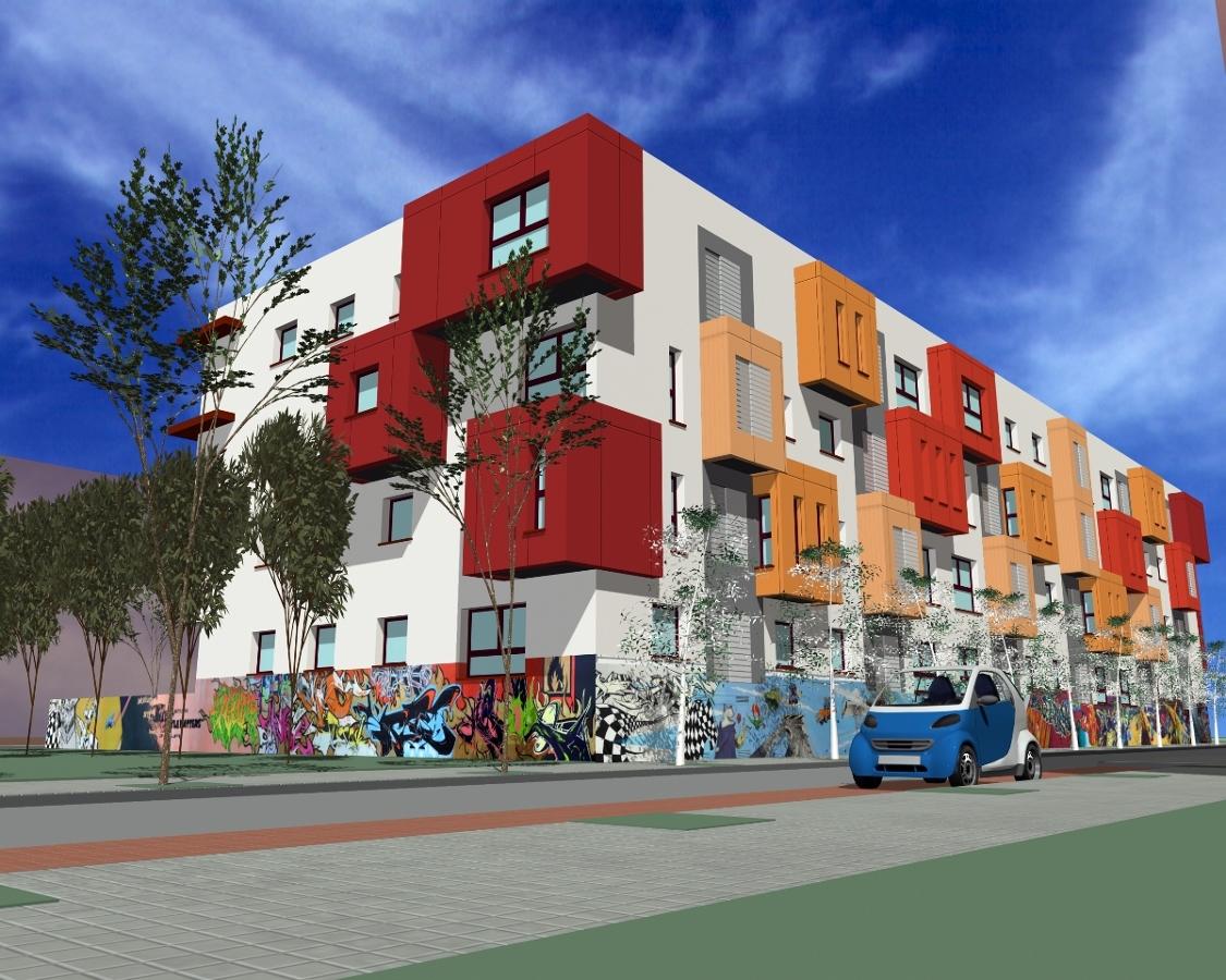 Foto 40 viviendas protegidas en vila propuesta de e - Arquitectos en avila ...