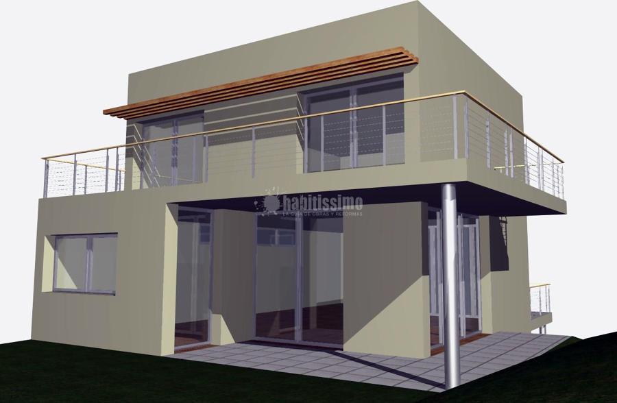 Arquitectos, Vivienda Unifamiliar Aislada