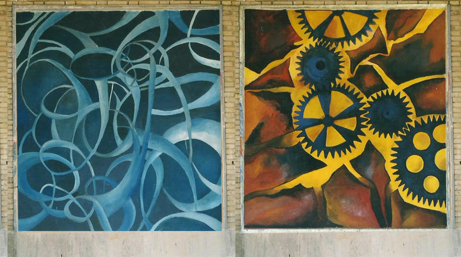 Murales para la UCM de Madrid