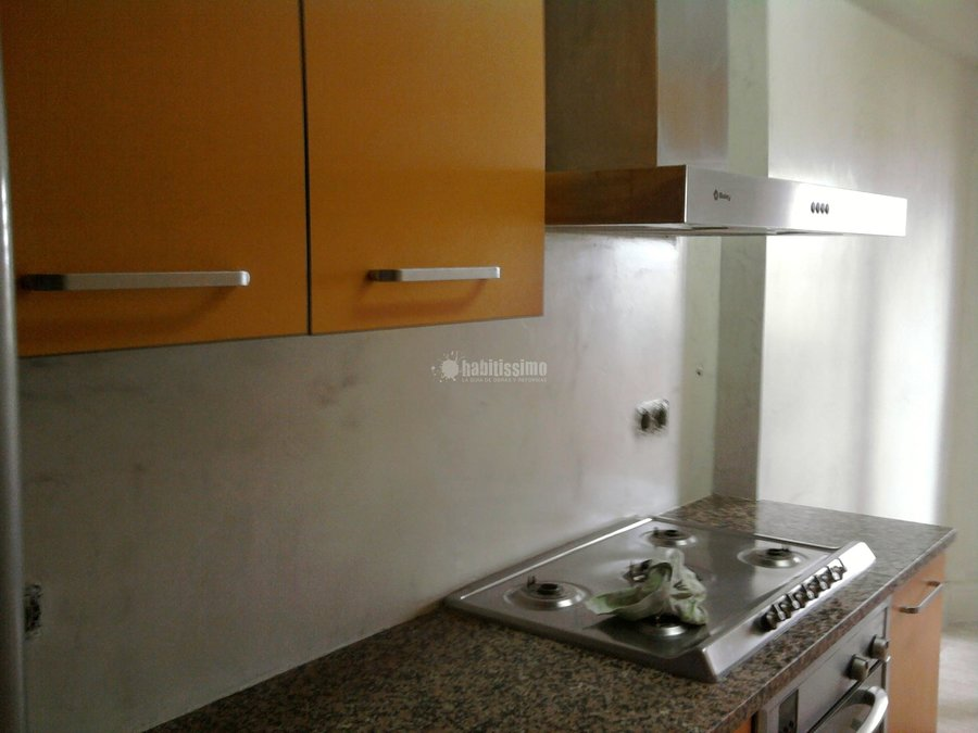 Foto microcemento en paredes de cocina 669098342 de innova obres i microcement 13407 habitissimo - Microcemento en cocinas ...