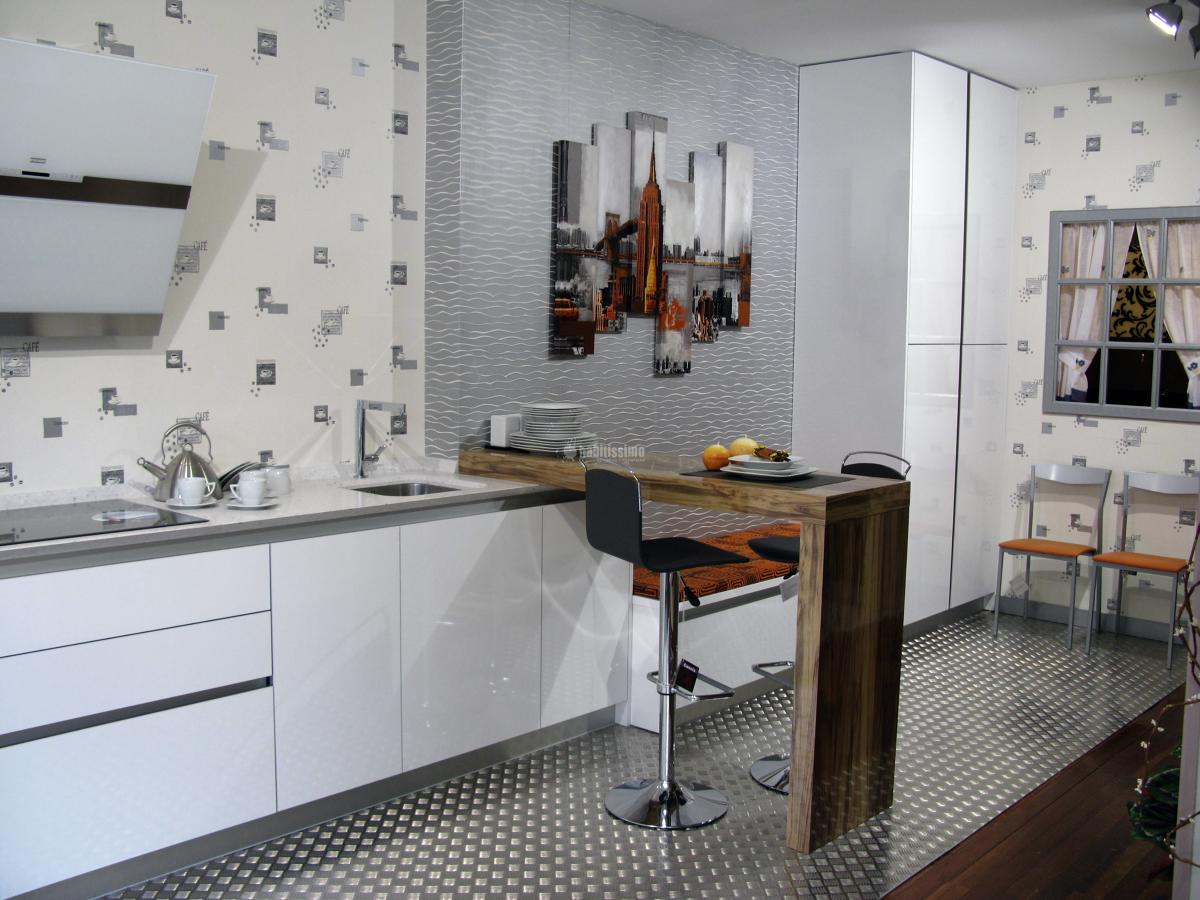 Foto muebles cocina cocinas adaptadas cocinas dise o de for Muebles de cocina zamora