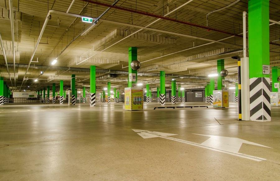 Limpieza de parking y garajes.