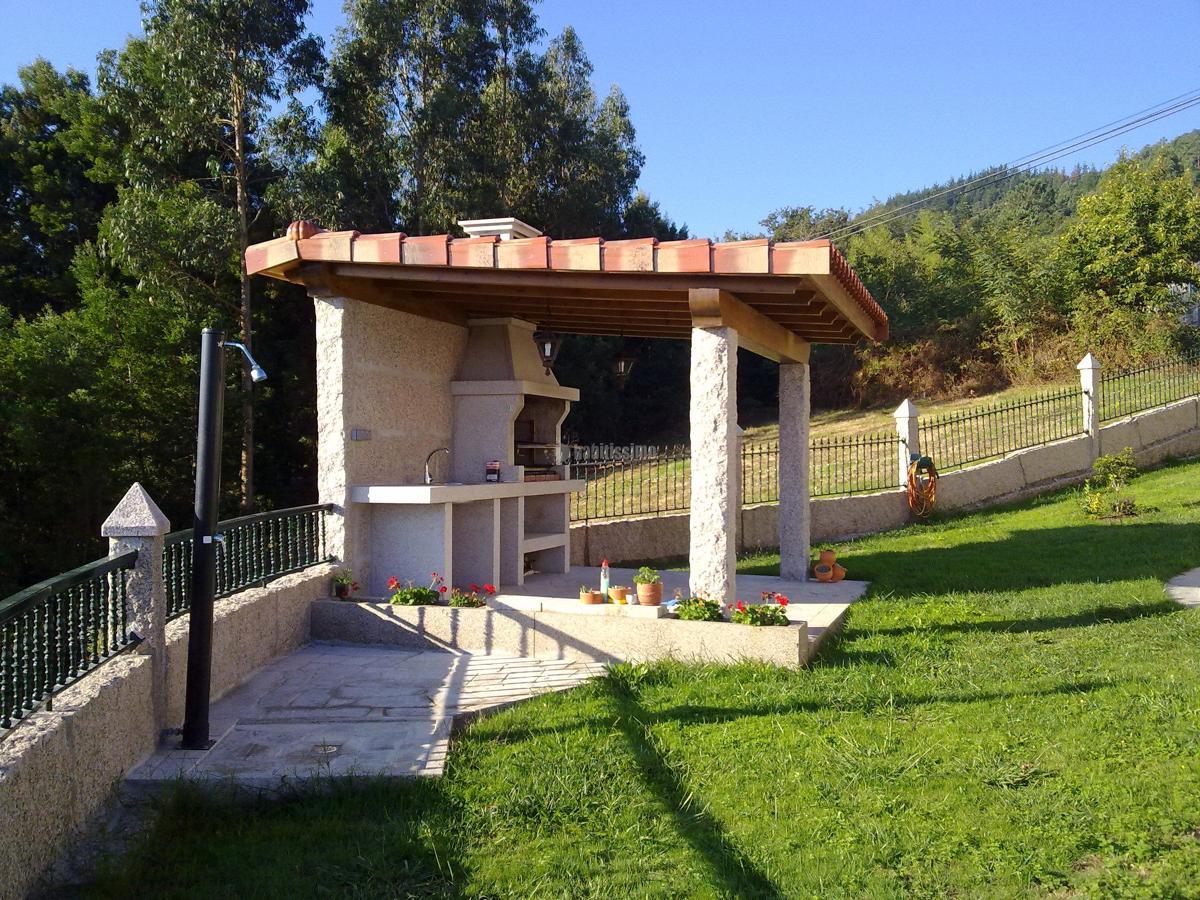 Foto construccion de barbacoa en pontevedra de gesti n - Construccion barbacoa ...