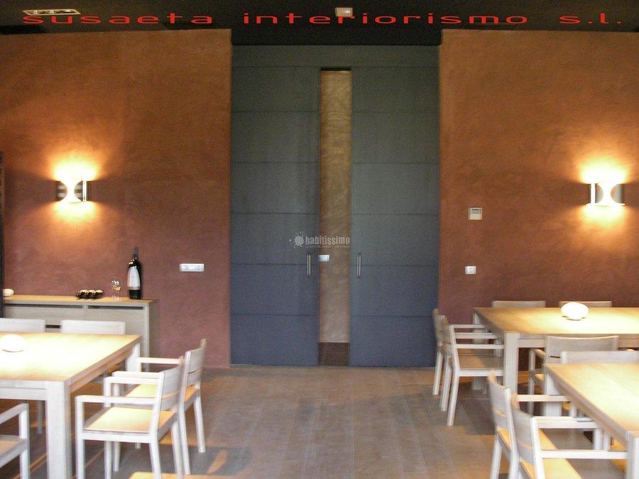 Foto interioristas art culos decoraci n reformas - Decoracion locales hosteleria ...