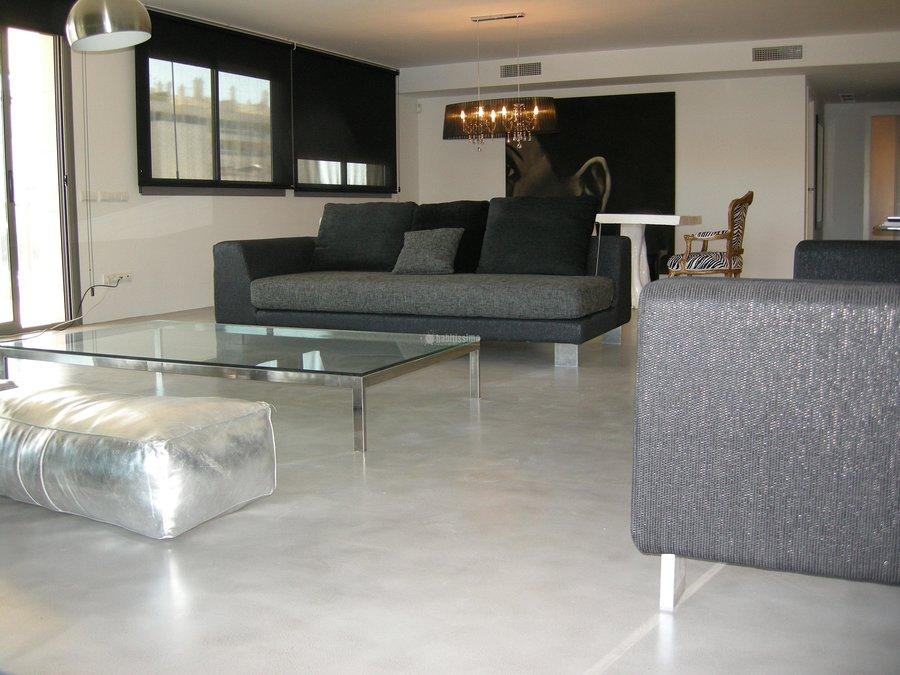 Foto revestimientos cemento pulido mueble medida de for Cemento pulido precio
