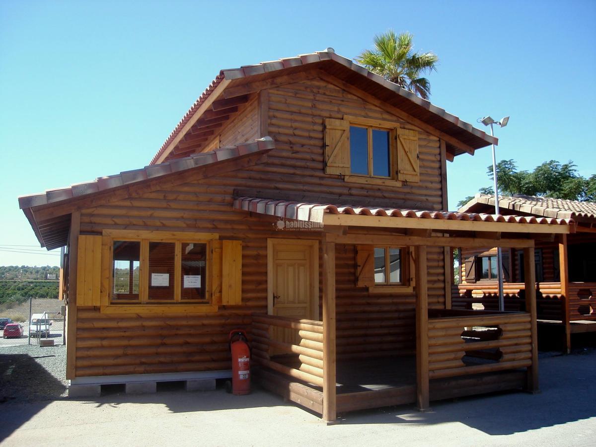 Foto prefabricados casas madera casas prefabricadas de casas carbonell 65476 habitissimo - Refugios de madera prefabricados ...
