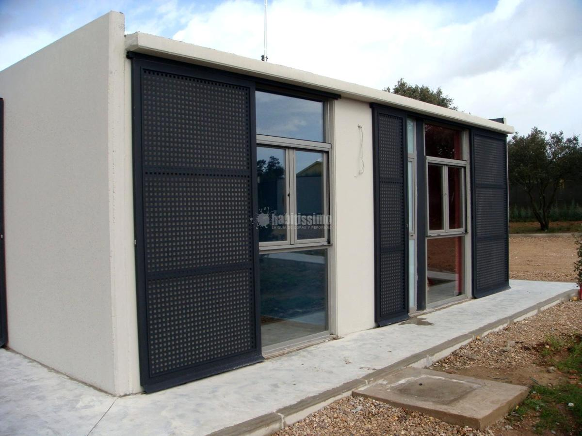 Foto construcci n casas casas modulares construcci n for Construccion de oficinas modulares