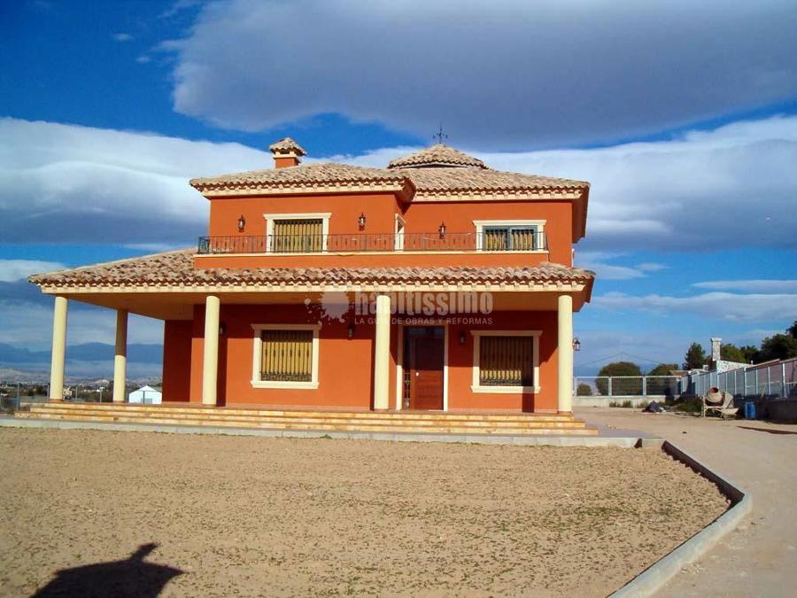 Foto construcci n casas reforma constructores de - Constructores de casas ...