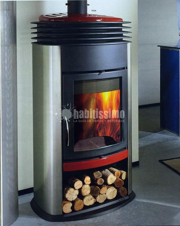 Foto chimeneas calefacci n tiendas de chimeneas jover for Chimeneas para calefaccion