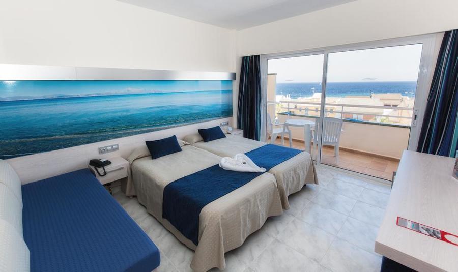 Decoración textil del Hotel SEA HOTEL en CAN PICAFORT