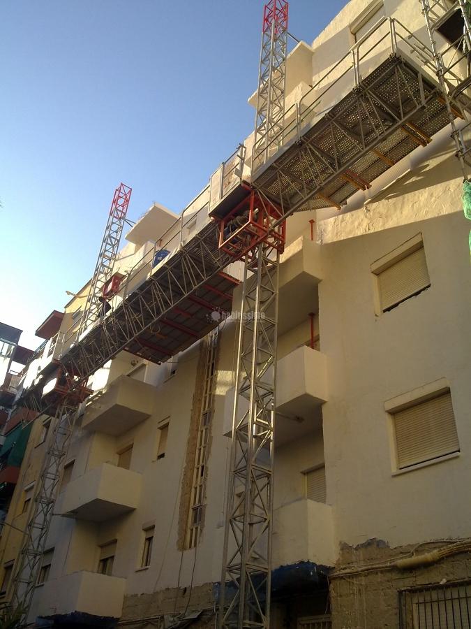Rehabilitación Fachadas, Andamios, Construcciones Reformas