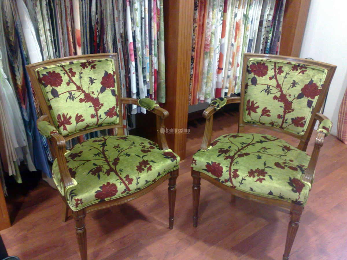 Foto textil tapiceros tapicer a n utica de viller - Tapiceros valladolid ...