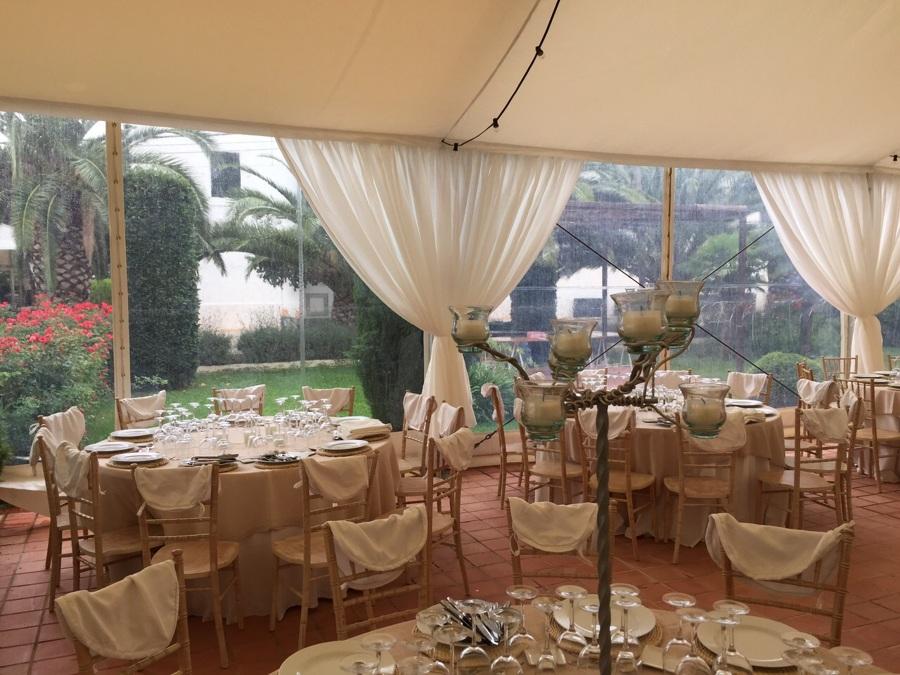 Foto carpa para una boda en aldamar valencia de carpas for Decoracion bodas valencia