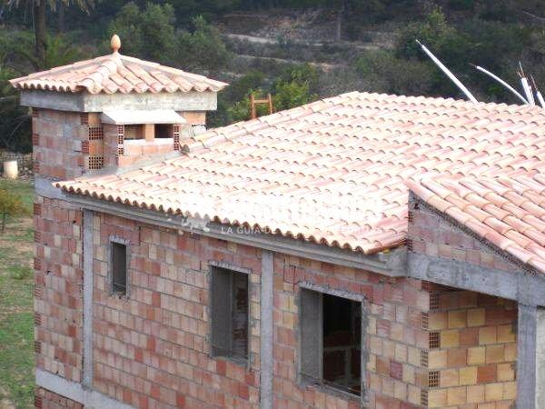 Foto construcci n casas tejados de hch construcciones y for Tejados y fachadas vizcaya